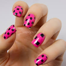 92 best manis 2 try color block geometric images on pinterest