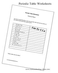 periodic table packet 1 answer key periodic table worksheet exle jpg