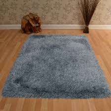 Blue Shaggy Rug Cascade Shaggy Rugs In Duck Egg Blue Free Uk Delivery The Rug