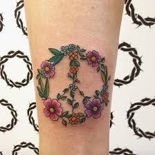 the 25 best peace sign tattoos ideas on pinterest peace sign