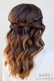 maid of honor hairstyles best 25 bridesmaids hairstyles ideas on pinterest bridesmaid
