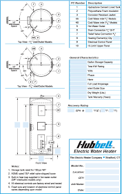 commercial electric water heater model se hubbell heaters