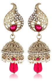 jhumki style earrings 19 best amazing party wedding wear indian earrings jhumka