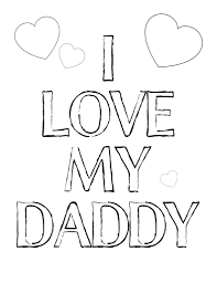 coloring pages love dad coloring pages love mom coloring