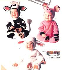 Pig Halloween Costume Baby Pig Lamb Toddler Halloween Costume Adorable Baby