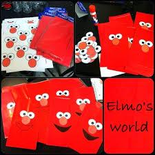 elmo party ideas elmo party ideas diy bags birthday birthday party