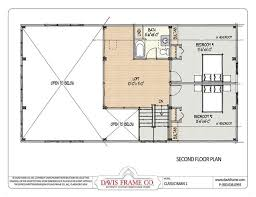 Floor Plans For Barn Homes Barn House Plans With Loft Second Floor Plan House Dreams
