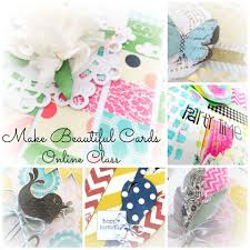 make beautiful cards card class ecourse card