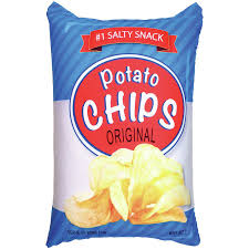 potato chip bag microbead throw pillow p i l l o w s pinterest