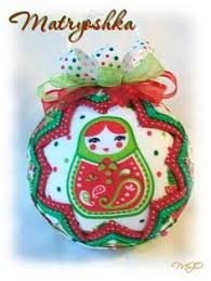 golden snowflake quilted quilt ornament handmade gold and green