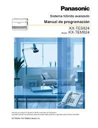 panasonic kx t7735 manual kx tes824 kx tem824 manual de programación