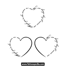 heart tattoos and designs page 95
