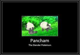 Slender Meme - pancham slender meme by 42dannybob on deviantart