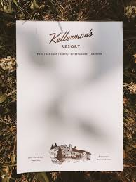 ellie u0026 co inc kellerman u0027s resort hotel notepad