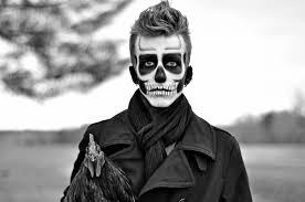 skeleton face makeup man mugeek vidalondon