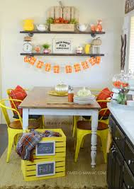 Fall Kitchen Decor - 28 fall kitchen decorating ideas 37 cool fall kitchen d 233