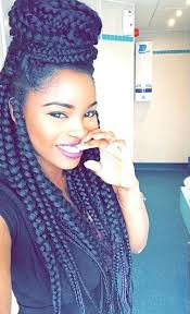 grey and purple combined together style box breads 50 box braids hairstyles that turn heads beauty