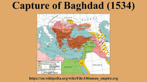 Baghdad World Map by Capture Of Baghdad 1534 Youtube