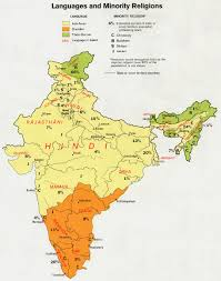 Indo European Language Map by India Language Indian Hindi India Quick Facts