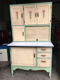 sears roebuck hoosier kitchen cabinet green creme great graphics