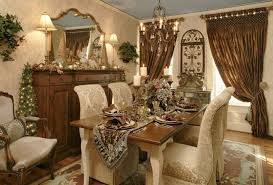 kitchen simple holiday decorating ideas dining room table
