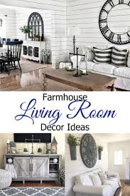 breathtaking and beautiful farmhouse living room ideas involvery