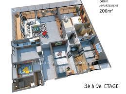 appartement 4 chambres appartement 4 chambres à vendre à gueule tapée fass colobane
