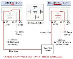 troubleshooting testing and bypassing spdt power trim tilt relays