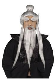 Halloween Makeup Beard by Sensei Wig And Beard Set