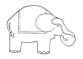 free elephant coloring book printable kids u2013 alcatix
