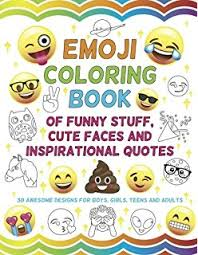 Emoji Coloring Book 24 Totally Awesome Coloring Pages