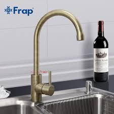simple style dual handle cold water mixer tap kitchen faucet