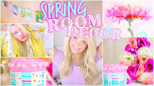 Spring Decorating Ideas Pinterest by Diy Spring Room Decor Inspired Youtube