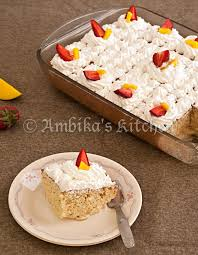mexican tres leches cake three milks cake ambika u0027s kitchen
