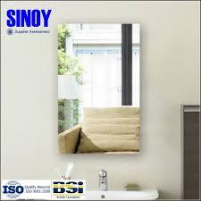Flat Bathroom Mirror by Modern Design Edge Processing Bathroom Mirror Flat Edge Beveled