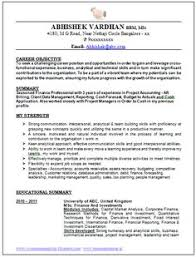 Sample Of Objective In Resume by Mca Fresher Resume Format Doc 1 Career Pinterest Resume Format
