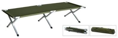 Portable Folding Bed Portable Folding Bed Made Of High Strength Aluminum Alloy And