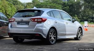 2017 subaru impreza sedan blue 2017 subaru impreza launched in singapore u2013 sedan and hatchback
