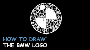 bmw logos how to draw the bmw logo youtube