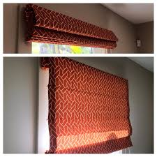 Red Roman Shades Window Coverings Gallery Prime Window Coverings San Diego Ca
