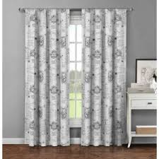 Fleur De Lis Shower Curtains Window Elements Semi Opaque Fleur De Lis Printed Cotton Extra Wide