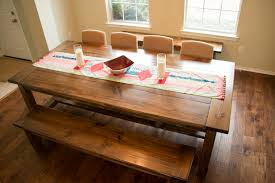 build a rustic dining room table farmhouse dining room table diy types