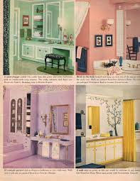 1960s Kitchen by Mint Bathroom Pink Bird Bathroom Purple Bathroom White Yellow