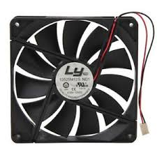 computer power supply fan ly 13525m12s nd1 135mm power supply replacement fan 2 wire 3 pin