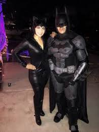 Homemade Catwoman Halloween Costume Beautiful Wife Dressed Catwoman Batman