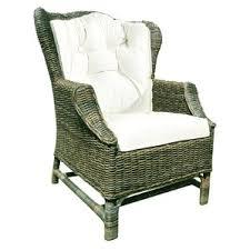 Outdoor Wingback Chair Rattan U0026 Wicker Wingback Accent Chairs You U0027ll Love Wayfair