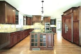 kitchen ideas with brown cabinets kitchens with light cabinets dark floor kitchen light cabinets dark