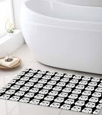 Soft Bathroom Rugs Wars Bath Mat Stormtrooper Soft Bathroom Mat