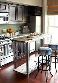 narrow kitchen island 21 space saving kitchen island alternatives for small kitchens