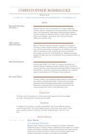skill resume free musician resume sample musician resume ana luca